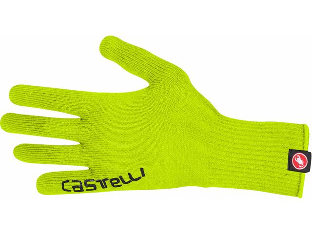 Castelli Corridore Handschoenen, yellow fluo